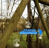 Houder van de Kaars van de Thee van de Snuisterij van het Glas van het kristal de Hangende Lichte