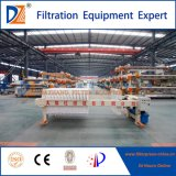 DZ-hydraulische halbautomatische Filterpresse für die Klärschlamm-Entwässerung