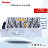 Aluminiumvolt 1.5A gehäuse Wechselstrom-Input Gleichstrom-48 regelte S-75-48 75W dünne LED Fahrer-Schaltungs-Stromversorgung