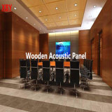 Panneau acoustique en bois de décoration d'écran antibruit de panneau de mur de plafond