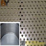Fabricante Fábrica Hoja perforada de aluminio de acero inoxidable