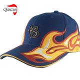 Nylon бейсбольная кепка логоса металла