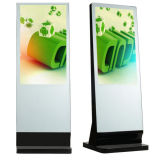 디지털 Signage 대화식 Touchscreen 모니터 간이 건축물을 서 있는 65 인치 지면