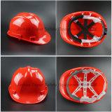 건축재료 기관자전차 헬멧 안전 헬멧 HDPE 모자 (SH502)