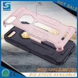 Schroffer Rüstungs-Stoß-Standplatz-Telefon-Kasten für das iPhone 8 Plus