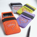 電話袋のための新しいデザイン100%リサイクルされたフェルト