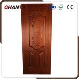 Peau de porte en placage en papier mélamine / revêtement naturel avec HDF