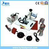 Multifunción 8 en 1 Combo prensa del calor de la máquina