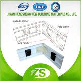 Zócalo de aluminio de venta caliente para el suelo y la pared