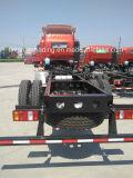중국 HOWO 4X2 가벼운 화물 트럭 짐 5-8 톤