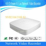 Dahua 4channelスマートな1uライトの機密保護NVRネットワークビデオレコーダー(NVR2104-S2)