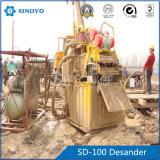 文明化された構築および工学のためのSD100 Desander