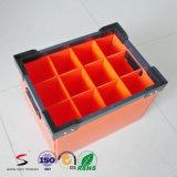 특별한 사용은 물결 모양 플라스틱 상자를 주름을 잡았다 플라스틱 상자를 상자에 넣는다