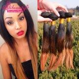 Бразильские выдвижения человеческих волос Ombre волос девственницы