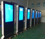 65inch HD lleno LCD al aire libre que hace publicidad del jugador