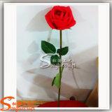 Distintivo Design Decoração PU Flor de seda artificial Rosa