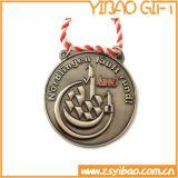 Medalha de bronze antiga por atacado do metal para a lembrança (YB-m-017)