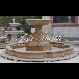 De gouden Fontein van het Graniet van het Zand voor Meubilair mf-1047 van de Tuin
