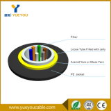 6 Cores Singlemode G652D Indoor Outdoor Fiber Optic Cable