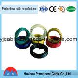 Isolation flexible à un noyau de PVC de conducteur d'en cuivre de fil de vente chaude
