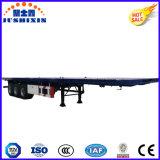 반 40FT 콘테이너 수송 평상형 트레일러 플래트홈 트럭 트레일러