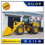 中国の幼虫(CAT)の5t車輪のローダーのフロント・エンドローダー(650B)
