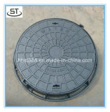 CO 600mm 연성이 있는 철 C250 맨홀 뚜껑