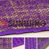Sunwing Comercio al por mayor ropa de caucho de color púrpura TPE estera del yoga