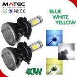40W 80W 8000lm Waterproof o barramento H4, H7, H11, 9005 farol de 9006 diodos emissores de luz