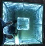 El RGB 3 en 1 Color en 3D LED espejo de la luz de la etapa de baile de discoteca, el Club, fiesta de boda