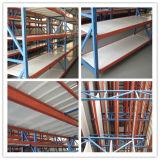 Sistema resistente do armazenamento da prateleira do metal do armazém 4 camadas
