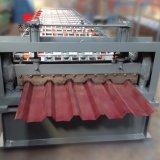 Azulejo automático de la hoja del material para techos del control del PLC que hace el rodillo que forma la máquina