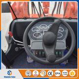 Carregador do registro do carregador da roda da máquina 2.5ton da construção com reboque