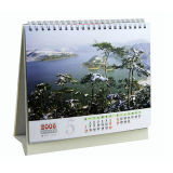 Excellent Quality Calendar Printing, Art Paper, Spiral Binding
