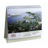 Excelente calidad de impresión del calendario, el Arte de papel, encuadernación en espiral