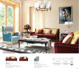 Sofá de la tela de la sala de estar en muebles
