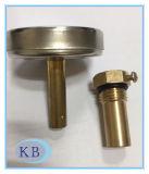 MiniWijzerplaat 34mm 0+120c van de Thermometer HVAC