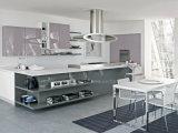 Module de cuisine individuel élégant de laque d'utilisation de modèle moderne de couleur