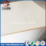 MDF blanco 18m m brillante de la tarjeta de la melamina de 17m m para los muebles caseros