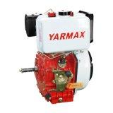 Yarmax手の開始の空気によって冷却される単一シリンダー海洋のディーゼル機関