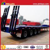 30-80 tonnes de cargaison semi de camion de remorque de service de bâti inférieur avec le paquet inférieur