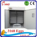 Hhd 3000의 닭 계란 가득 차있는 자동적인 닭 계란 부화기
