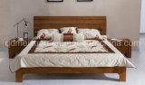 固体木のベッドの現代ダブル・ベッド(M-X2333)