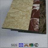 외면 4mm PVDF Decorative Wall Panels Acm Aluminum Composite Material