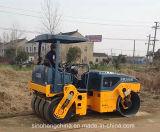 기계장치 포장 6 톤 가득 차있는 유압 타이어에 의하여 결합되는 도로 롤러 (JM206H)