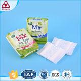 Garnitures sanitaires de coton pour les essuie-main sanitaires de garnitures menstruelles de femmes