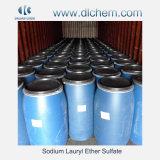 ナトリウムの陰イオンの界面活性剤のためのLaurylエーテルの硫酸塩SLES 70%