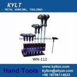 9 PCS gute Qualitätskugel-Punkt-Allen-Schlüssel-Set