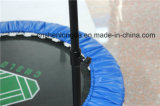 Mini trampolino rotondo blu per uso dell'interno domestico