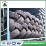 Macchina residua della pressa per balle del pneumatico del camion per il riciclaggio di gomma